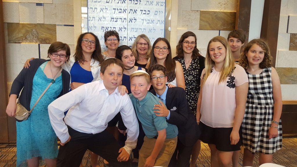 Temple B'nai Tikvah Education B'nai Mitzvah