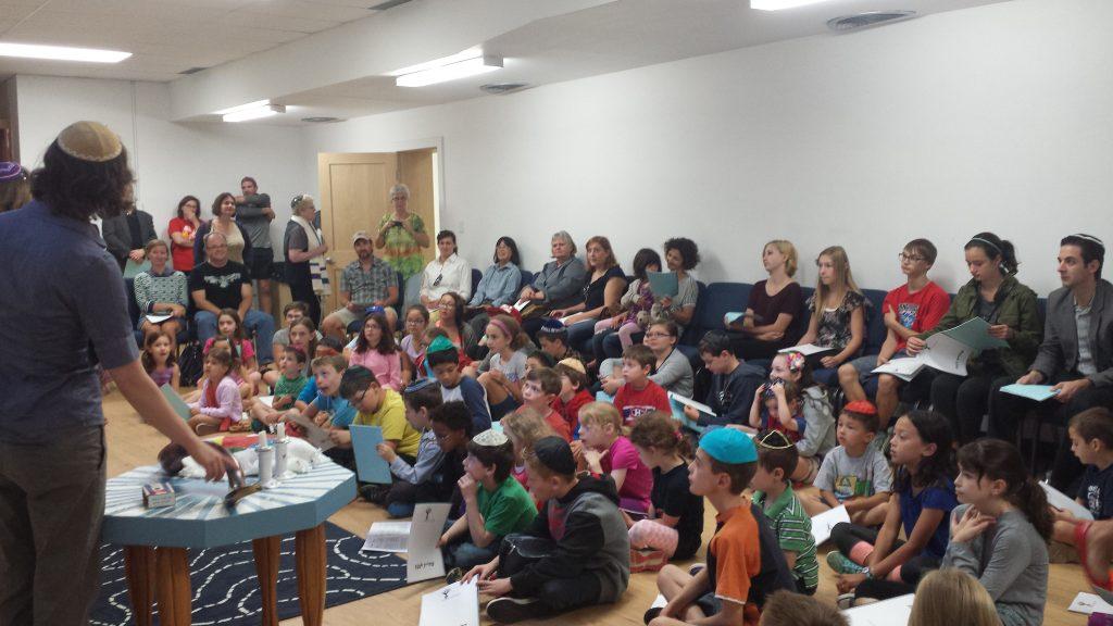 Temple B'nai Tikvah Shabbat School Tfillah